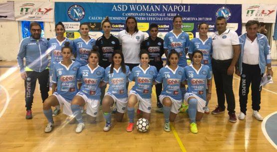 Passione, tecnica e tanta voglia di vincere. 9-0 per le Woman Napoli C5