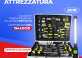 Promo attrezzatura, valigetta portautensili 108 pcs con lampada OMAGGIO